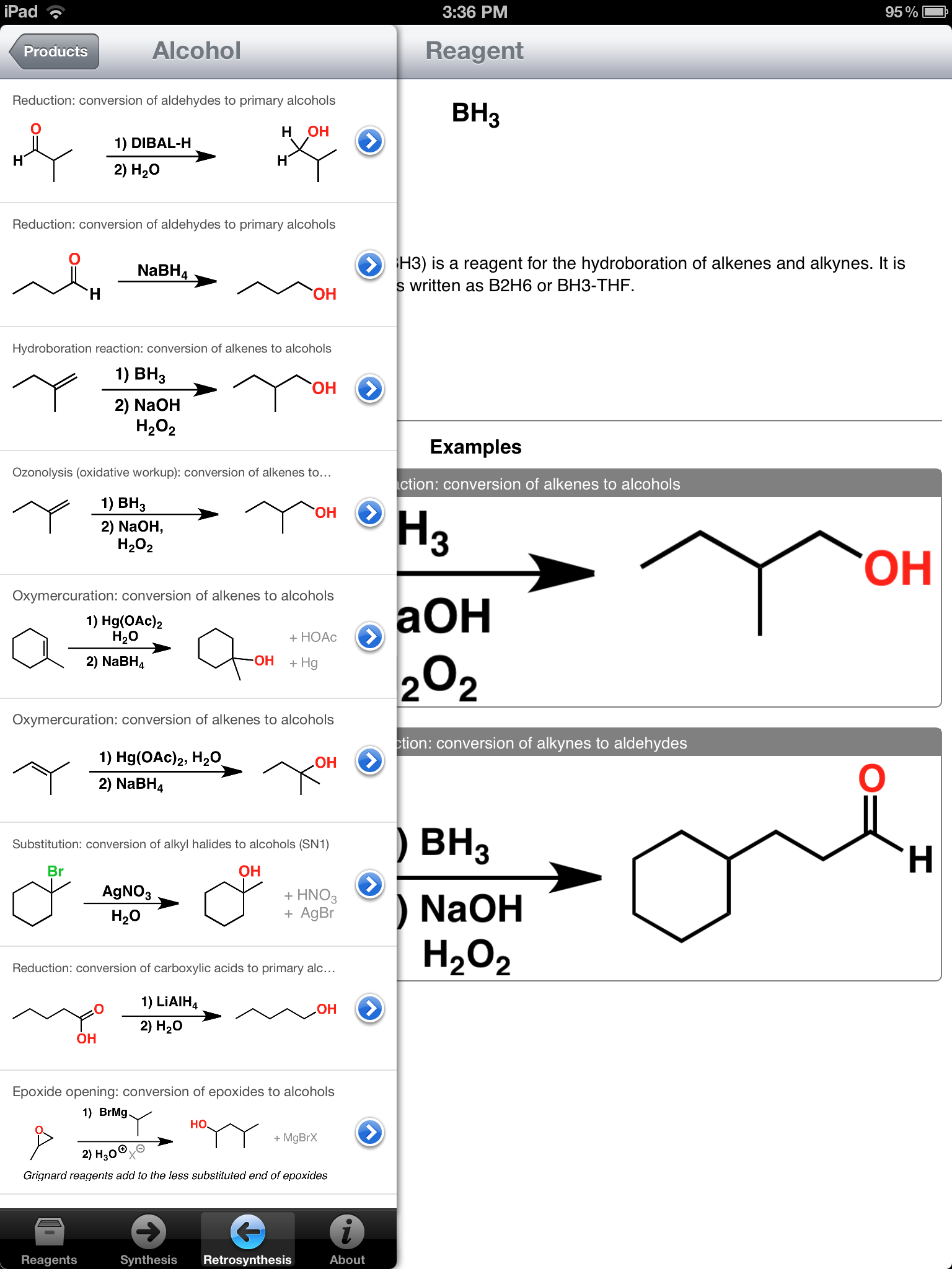 organic chemistry retrosynthesis help