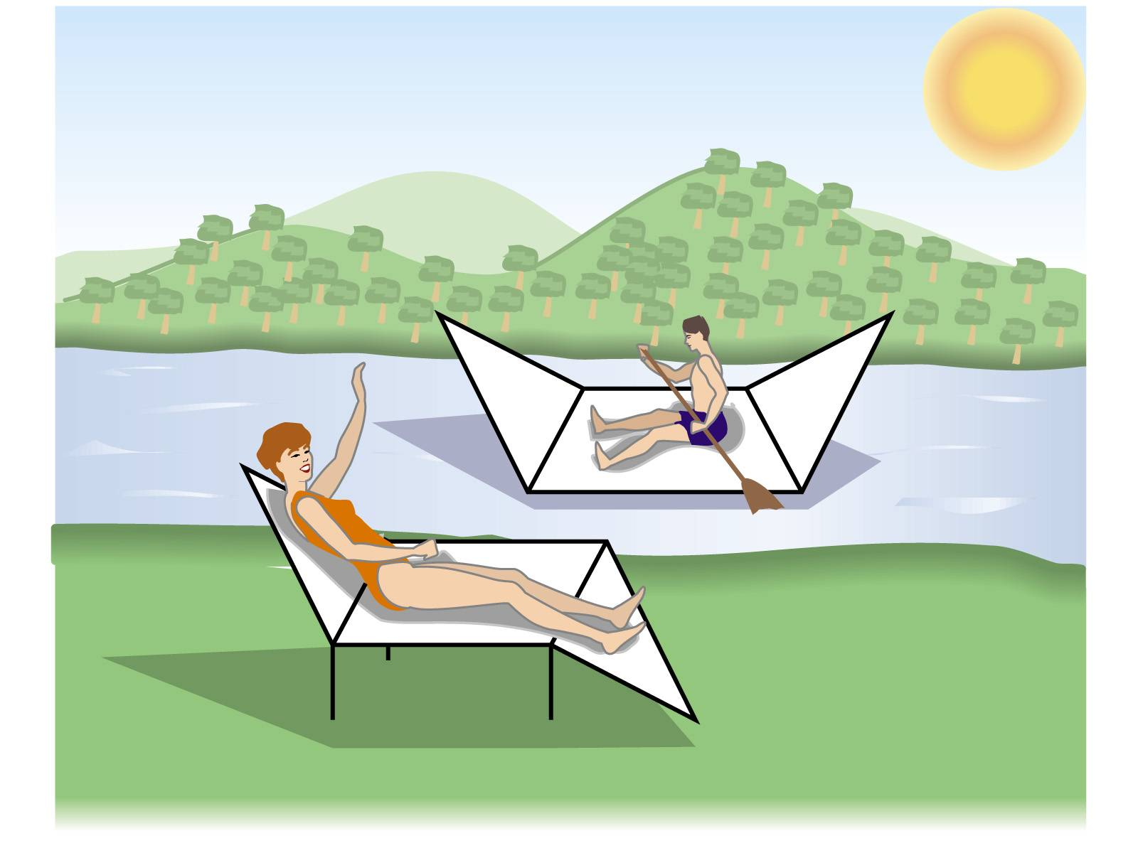 Hammock Chair With Footrest A Modest Proposal — Master Organic Chemistry